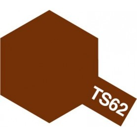"""Tamiya 85062 Sprayfärg TS-62 """"Nato Brown"""" matt, innehåller 100 ml"""