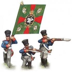 Prince August 541 Napoleon Preussen, livgardsgrenadjärer, 25 mm höga