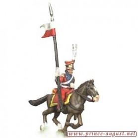 Prince August 547C Napoleon Polen, häst till Prince August form nummer 547A, 25 mm höga