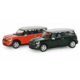 Herpa 033824 Mini Cooper S Clubman?, metallic