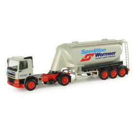 "Herpa 154093 DAF CF silo semitrailer ""Wormser"""