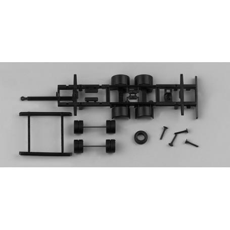 Chassis for bulk tandem volume trailer swap body 2-axle (7,82m) Content: 2  pcs