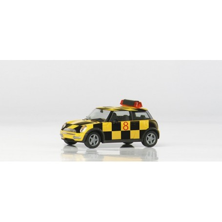 "Herpa 045599 Mini Cooper&No.8482: ""Follow me"""