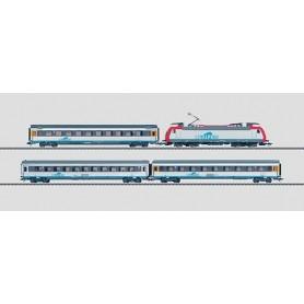 """Märklin 26544 Tågset """"CISALPINO"""" Schweizerischen Bundesbahnen (SBB)"""