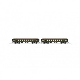 "Trix 15759 Personvagnsset, 2 st vagnar ""DER Holidays Express - SET 2"" DB"