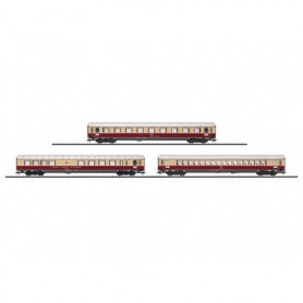 "Trix 23427 Personvagnsset ""TEE Bavaria"", 3 st vagnar från 1971"