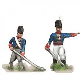 Prince August 521 Napoleon England, Artillerister