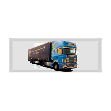 "AMW 53413 Scania ""4"" R Topline Aero Kapelltrailer ""Tom Lochen /ASG"""