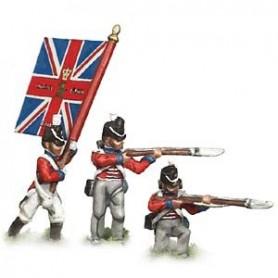 Prince August 537 Napoleon England, Gardesinfanteriet, 25 mm höga, gjutform för tenngjutning