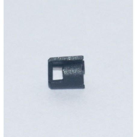 Märklin 522160 Lamphus för Märklins C-skena korsningsväxel 24624, 1 st, svart