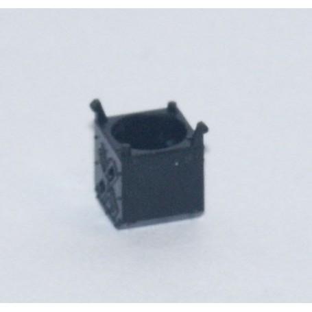 Märklin 522170 Bländskydd för Märklins C-skena korsningsväxel 24624, 1 st, svart