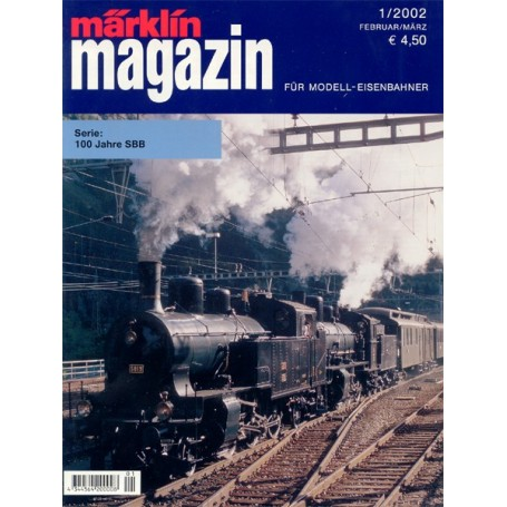 Media KAT22 Märklin Magazin 1/2002