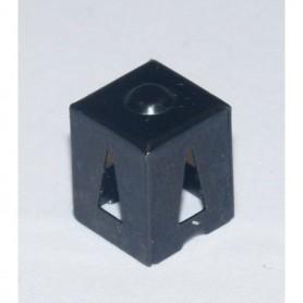 Märklin 352560 Lamphus för Märklin avkopplingsskena, äldre, 1 st, svart, utan i-lägg