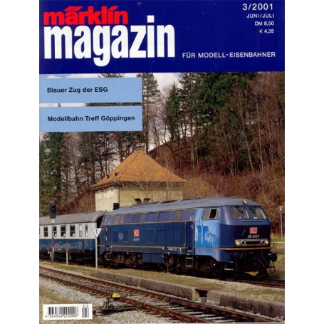 Media KAT29 Märklin Magazin 3/2001