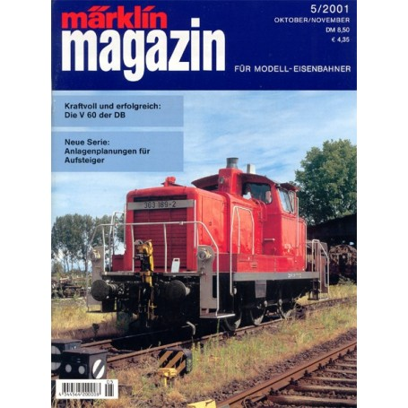 Media KAT31 Märklin Magazin 5/2001