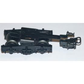 Märklin 303390 Vagnsboggie typ Minden-Deutz, komplett med buffertar och hjul, 1 st, svart