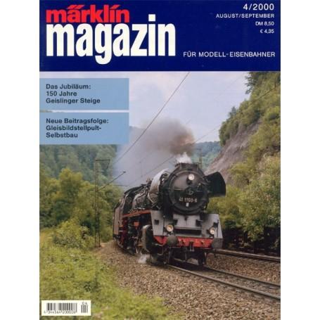 Media KAT34 Märklin Magazin 4/2000