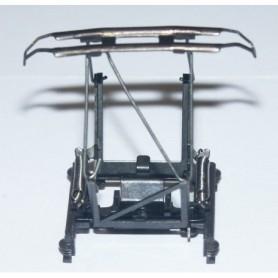 Märklin 258270 Strömavtagare, standard för Märklin lok med brun/svarta isolatorer