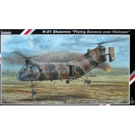 "Special Hobby 48062 Helikopter H-21 Shawnee ""Flying Banana over Vietnam"""