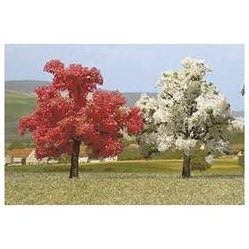 Busch 6813 Blommande träd, 2 st, 35 mm hög