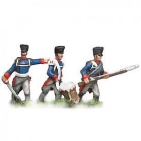 Prince August 535 Napoleon Preussen, livgardsgrenadjärer, 25 mm höga