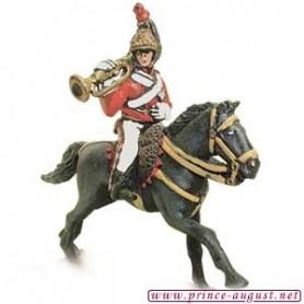 Prince August 543B Napoleon England, häst till Prince August form nummer 543A, 25 mm höga