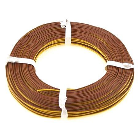 Beli-Beco L2218/5 Kabel, 2-delad, gul/brun, 5 meter