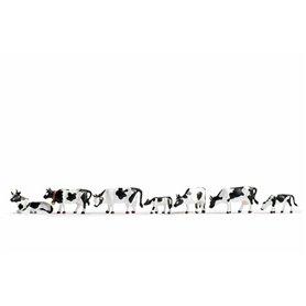 Noch 36721 Kossor, svarta & vita, 9 figurer