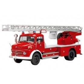 """Schuco 00155 Brandbil MB L322 """"Feuerwehr Münnerstadt"""""""