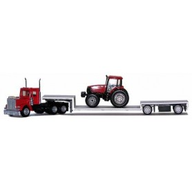 Promotex 6372 KW W-900 Double-Drop, Spread-Axle W/Case Tractor