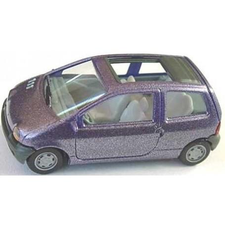 Herpa 031516 Renault Twingo med öppen taklucka Metallic