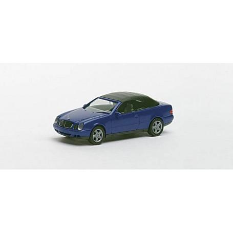 Herpa 032582 Mercedes-Benz CLK Cabrio, metallic