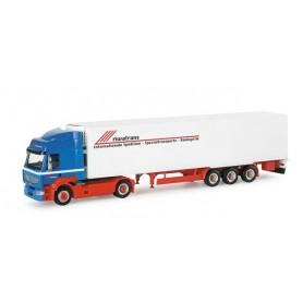 """Herpa 154642 Renault Premium refrigerated box semitrailer """"Riwatrans"""""""