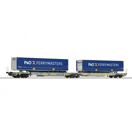 "Roco 76420 Dubbelvagn AAE AG ""P&O Ferrymasters"""