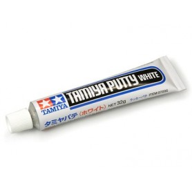"Tamiya 87095 Spackel, tub 32 gram, för plastmodeller, ""White"""