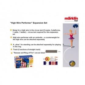 """Märklin 78094 Utbyggnadssats """"High Wire Performer"""" till Cirkus Mondolino"""""""