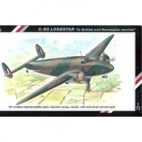 "Special Hobby 72112 Flygplan C-60 Lodestar ""In British Norwegian Service"""