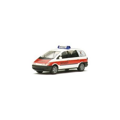 "Herpa 043168  VW Sharan ""NEF Salzgitter"""