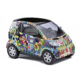 "Busch 48981 Smart Fortwo ""Fischer Art Design 2"""