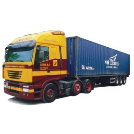 "AMW 53101 Iveco Stralis Aero med 40 fots containertrailer ""Veper/Nyk"""
