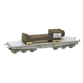 Heico 87015 Vagnslast med byggdel i metall för flakvagn
