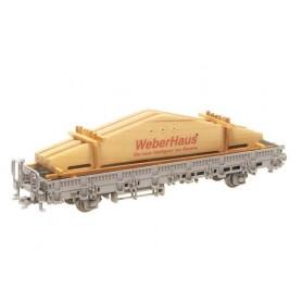 "Heico 87446 Vagnslast, limträbalkar ""Weber Haus"""
