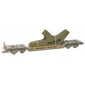 Heico 87822 Vagnslast, lager för stålbroar