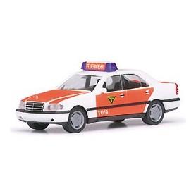 """Herpa 043977 Mercedes Benz C200 Limousine """"Feuerwehr ELW"""""""
