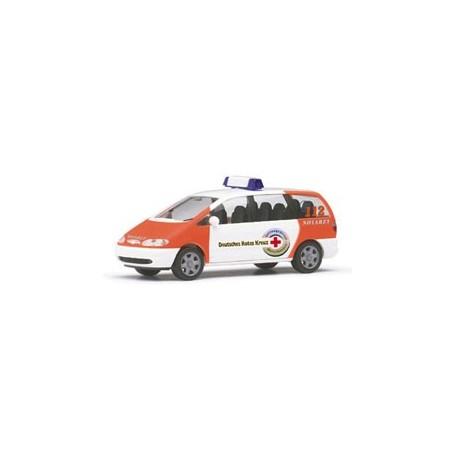 """Herpa 044059 Ford Galaxy """"DRK Mittelhessen NEF"""""""