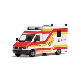 """Herpa 044301 Mercedes Benz Sprinter Strobel """"ASB Grünstadt"""""""