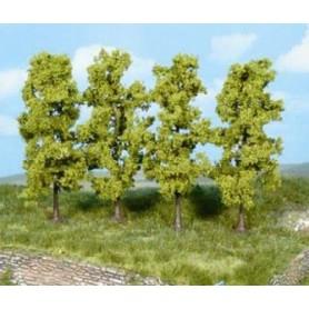 Heki 1977 Lövträd, 4 st, 11 cm höga