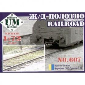 UM Unimodels 607 Lös järnvägssräls