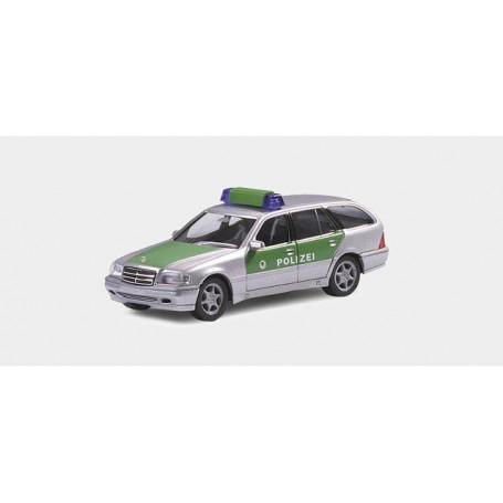 "Herpa 044691 Mercedes Benz C-class T model ""Polizei Baden Wuerttemberg"""