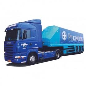 """AMW 73825 Scania Highliner Aero med glastransport """"Hegeman""""Pilkington"""""""
